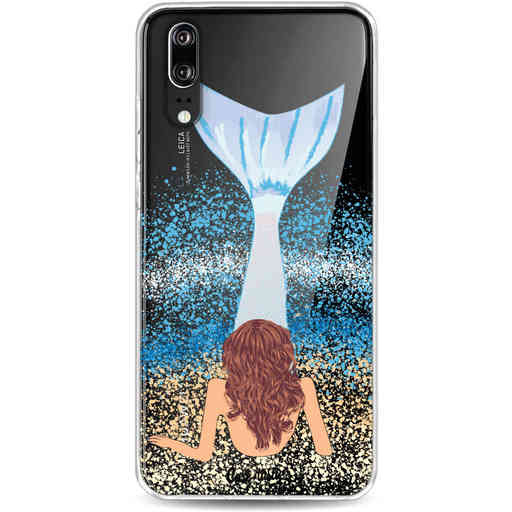 Casetastic Softcover Huawei P20 - Mermaid Brunette