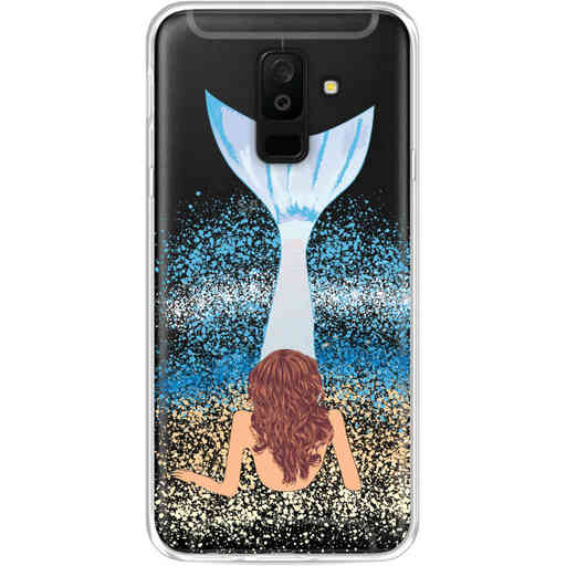 Casetastic Softcover Samsung Galaxy A6 Plus (2018) - Mermaid Brunette