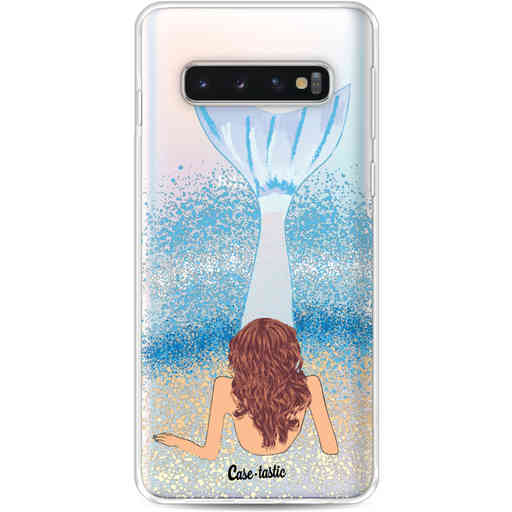 Casetastic Softcover Samsung Galaxy S10 - Mermaid Brunette