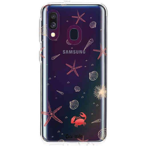 Casetastic Softcover Samsung Galaxy A40 (2019) - Sea World