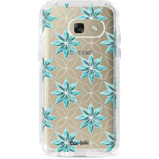 Casetastic Dual Snap Case Samsung Galaxy A3 (2017) - Statement Flowers Blue