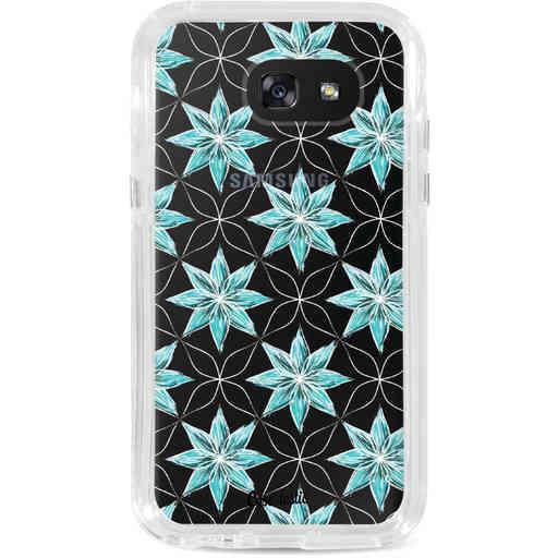 Casetastic Dual Snap Case Samsung Galaxy A5 (2017) - Statement Flowers Blue