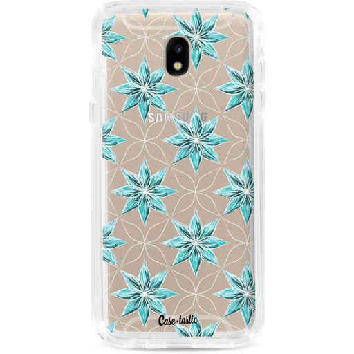 Casetastic Dual Snap Case Samsung Galaxy J5 (2017) - Statement Flowers Blue