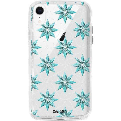 Casetastic Dual Snap Case Apple iPhone XR - Statement Flowers Blue