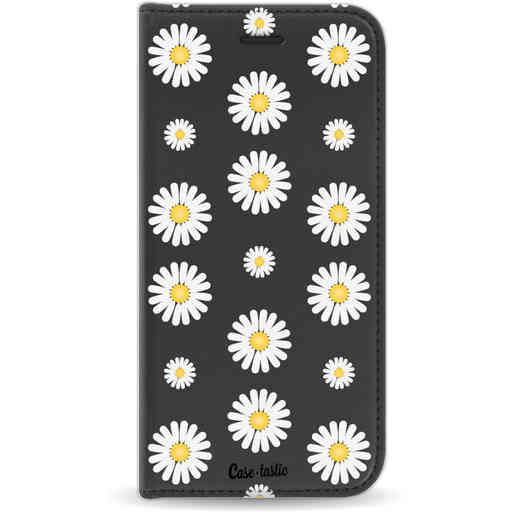 Casetastic Wallet Case Black Apple iPhone 7 / 8 - Daisies
