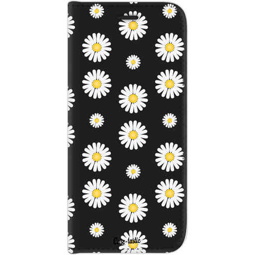 Casetastic Wallet Case Black Samsung Galaxy J7 (2017) - Daisies