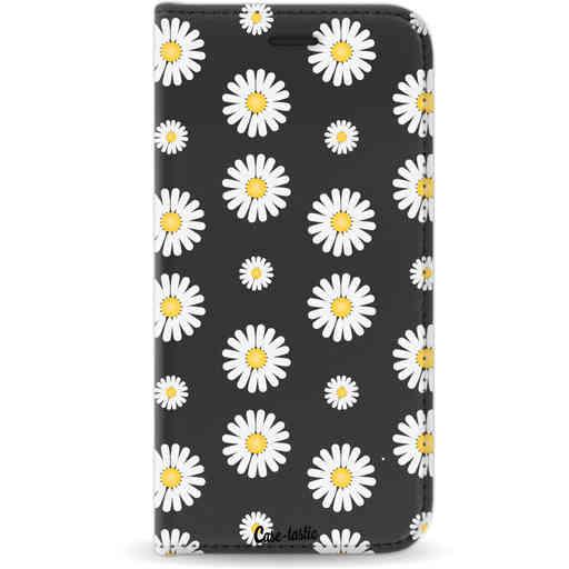 Casetastic Wallet Case Black Samsung Galaxy J3 (2017) - Daisies