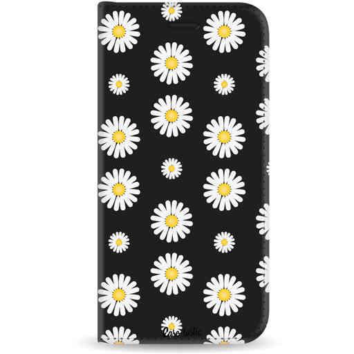 Casetastic Wallet Case Black Samsung Galaxy J6 (2018) - Daisies