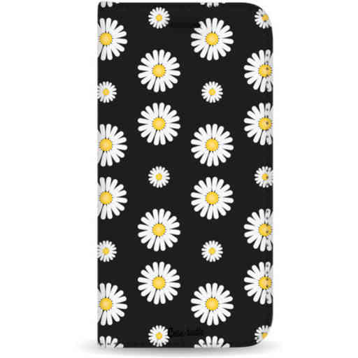Casetastic Wallet Case Black Apple iPhone 7 Plus / 8 Plus - Daisies