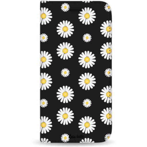 Casetastic Wallet Case Black Samsung Galaxy A7 (2018) - Daisies