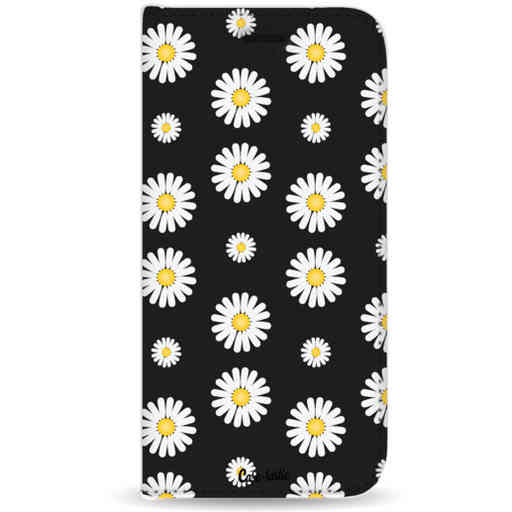Casetastic Wallet Case Black Samsung Galaxy J4 Plus (2018) - Daisies