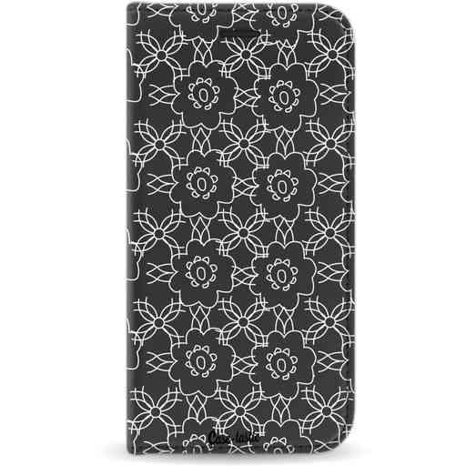 Casetastic Wallet Case Black Samsung Galaxy J3 (2017) - Flowerbomb