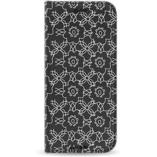 Casetastic Wallet Case Black Samsung Galaxy S8 - Flowerbomb