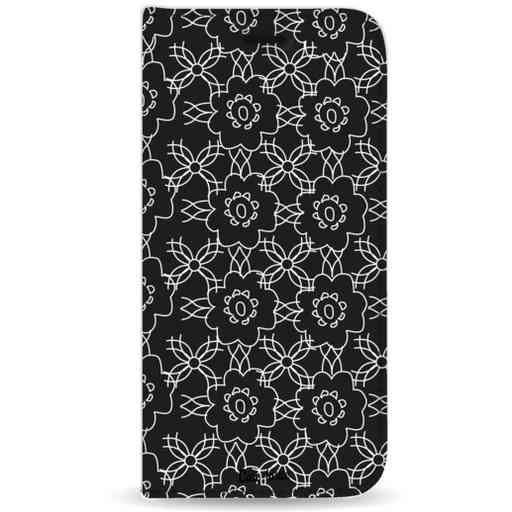 Casetastic Wallet Case Black Samsung Galaxy J4 Plus (2018) - Flowerbomb