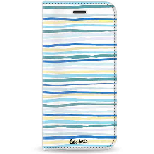 Casetastic Wallet Case White Apple iPhone 7 / 8 - Stripe Vibe