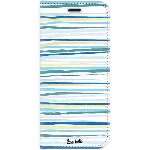 Casetastic Wallet Case White Motorola Moto G6 - Stripe Vibe
