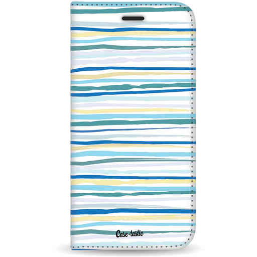 Casetastic Wallet Case White Samsung Galaxy S10 - Stripe Vibe