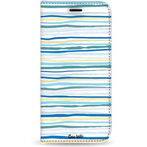 Casetastic Wallet Case White Samsung Galaxy A9 (2018) - Stripe Vibe