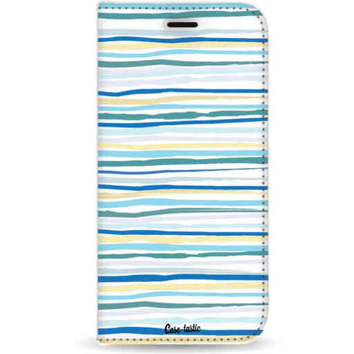 Casetastic Wallet Case White Samsung Galaxy J4 Plus (2018) - Stripe Vibe