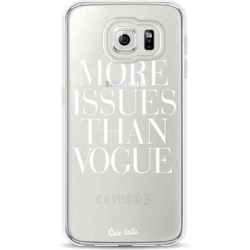 Casetastic Softcover Samsung Galaxy S6 - More issues than Vogue