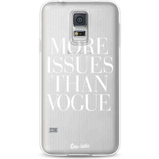 Casetastic Softcover Samsung Galaxy S5  - More issues than Vogue