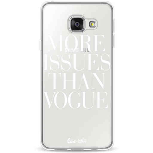 Casetastic Softcover Samsung Galaxy A3 (2016) - More issues than Vogue