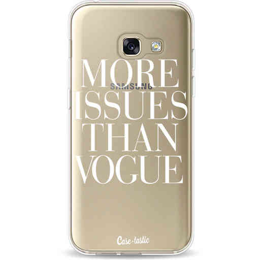 Casetastic Softcover Samsung Galaxy A3 (2017)  - More issues than Vogue