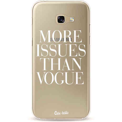 Casetastic Softcover Samsung Galaxy A5 (2017) - More issues than Vogue