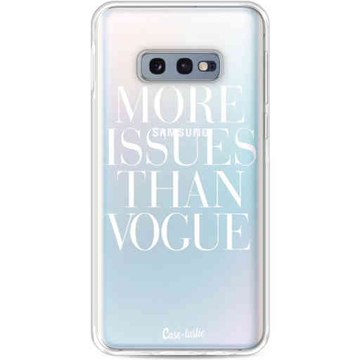 Casetastic Softcover Samsung Galaxy S10e - More issues than Vogue