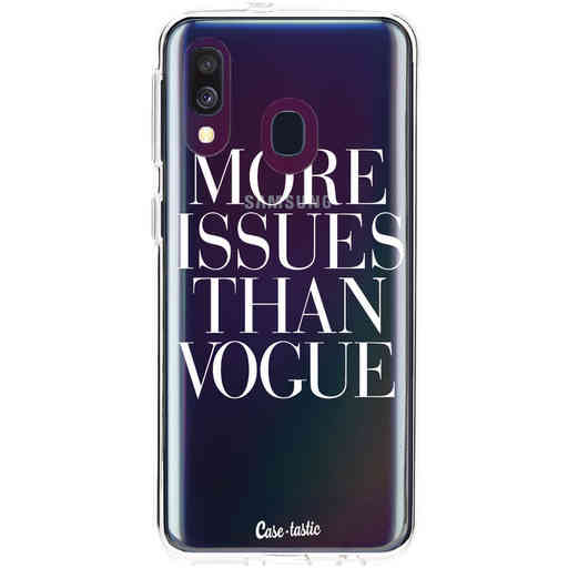 Casetastic Softcover Samsung Galaxy A40 (2019) - More issues than Vogue