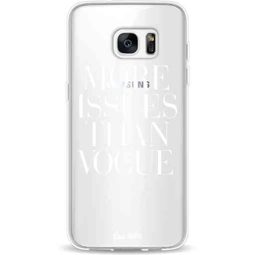 Casetastic Softcover Samsung Galaxy S7 Edge - More issues than Vogue
