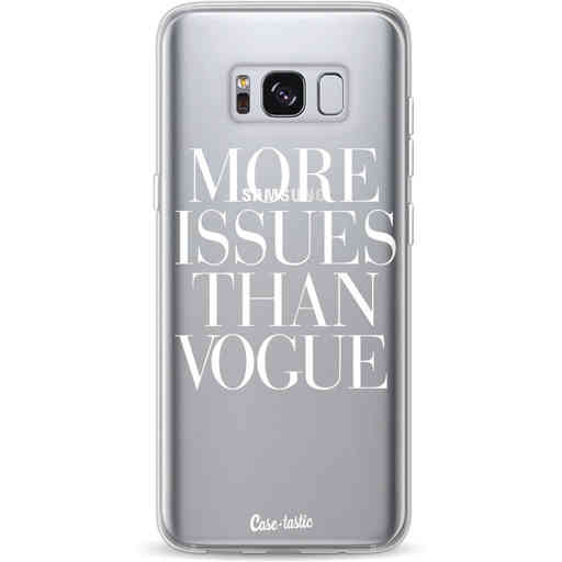 Casetastic Softcover Samsung Galaxy S8 - More issues than Vogue