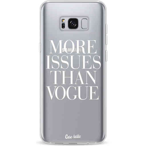 Casetastic Softcover Samsung Galaxy S8 Plus - More issues than Vogue