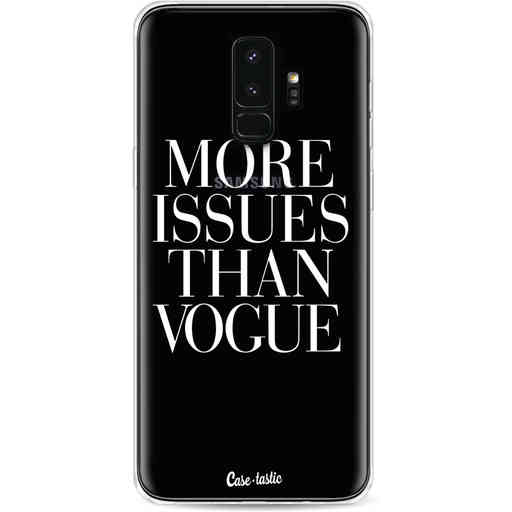 Casetastic Softcover Samsung Galaxy S9 Plus - More issues than Vogue