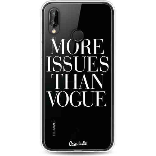 Casetastic Softcover Huawei P20 Lite (2018) - More issues than Vogue