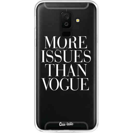 Casetastic Softcover Samsung Galaxy A6 Plus (2018) - More issues than Vogue