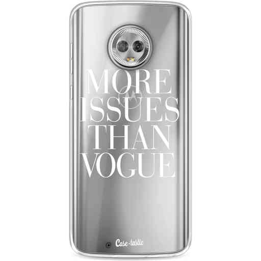 Casetastic Softcover Motorola Moto G6 - More issues than Vogue