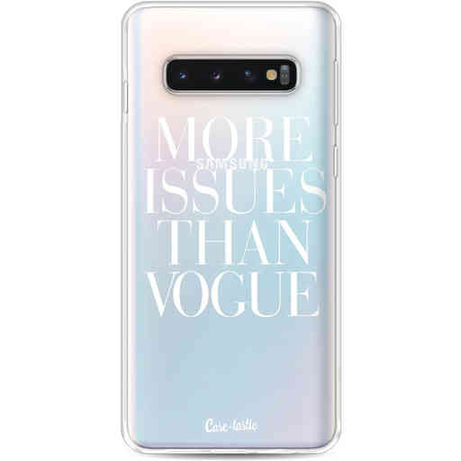Casetastic Softcover Samsung Galaxy S10 - More issues than Vogue