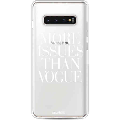Casetastic Softcover Samsung Galaxy S10 Plus - More issues than Vogue