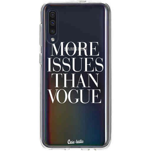 Casetastic Softcover Samsung Galaxy A50 (2019) - More issues than Vogue