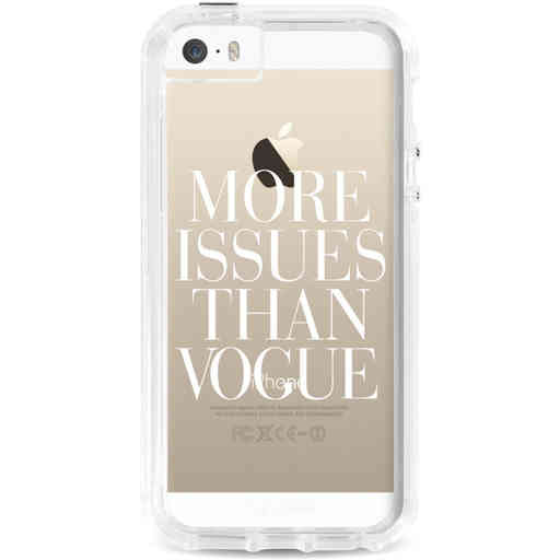 Casetastic Dual Snap Case Apple iPhone 5 / 5s / SE - More issues than Vogue