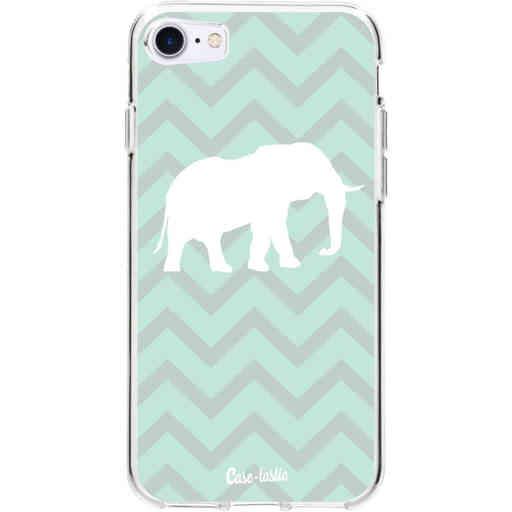 Casetastic Softcover Apple iPhone 7 / 8 - Elephant Chevron Pattern