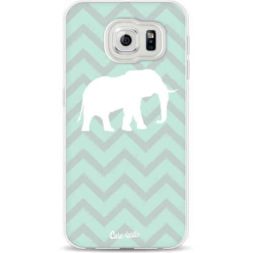 Casetastic Softcover Samsung Galaxy S6 - Elephant Chevron Pattern
