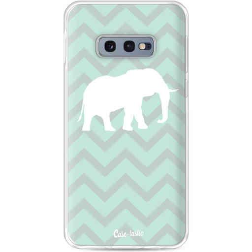 Casetastic Softcover Samsung Galaxy S10e - Elephant Chevron Pattern