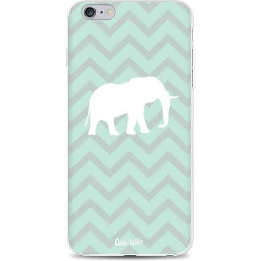 Casetastic Softcover Apple iPhone 6 Plus / 6s Plus - Elephant Chevron Pattern