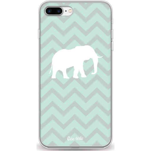 Casetastic Softcover Apple iPhone 7 Plus / 8 Plus - Elephant Chevron Pattern