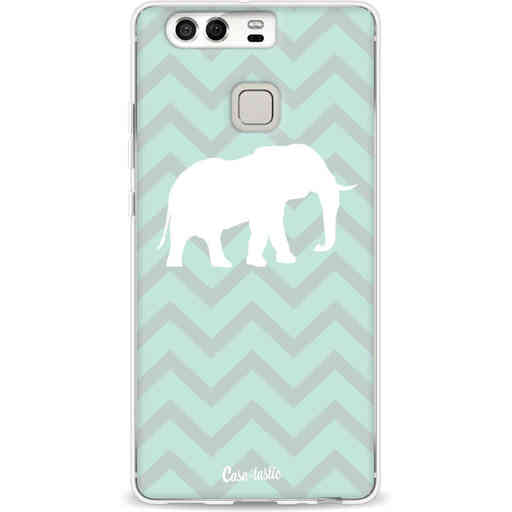 Casetastic Softcover Huawei P9 - Elephant Chevron Pattern