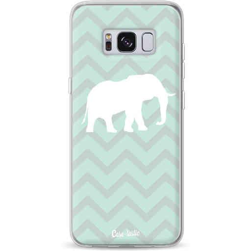 Casetastic Softcover Samsung Galaxy S8 - Elephant Chevron Pattern