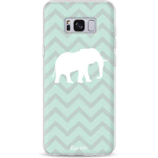 Casetastic Softcover Samsung Galaxy S8 Plus - Elephant Chevron Pattern