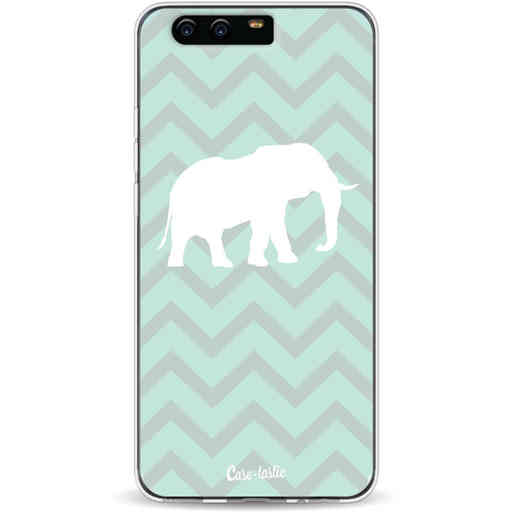 Casetastic Softcover Huawei P10 - Elephant Chevron Pattern